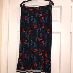 Stitch Retro Pencil Skirt
